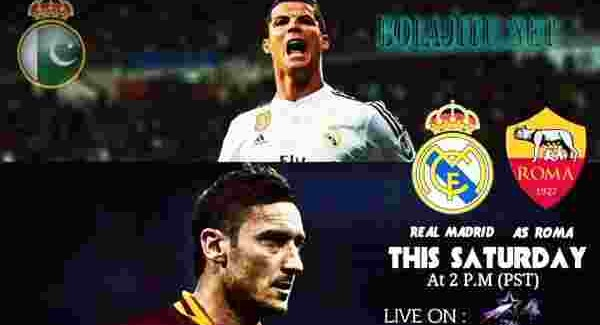 real madrid vs as roma TOP BOLA JITU